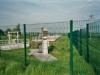 Bassin de pollution équipé d'un dégrilleur automatique et d'un dessableur. Volume du bassin : 180 m3