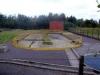 Ancienne station de Montois la Montagne transformée en bassin de pollution de 200 m3. Equipé d'un dégrilleur et d'un dessableur.