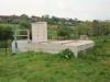 Bassin de retenue de pollution de 100 m3 combiné à un poste de refoulement (2 pompes de 57 m3/h)