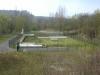 Bassin de retenue de pollution de 800 m3 combiné au poste de refoulement Sous les Roches (3 pompes - 440 m3/h)