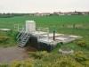 PBassin de retenue de pollution de 300 m3 combiné à un poste de refoulement(2 pompes de 160 m3/h)
