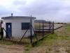 Bassin de retenue de pollution de 250 m3 combiné à un poste de refoulement (3 pompes : 2 pompes de 72 m3/h et 1 pompe de 50 m3/h)