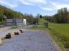Bassin de retenue de pollution de 160 m3 combiné à un poste de refoulement (2 pompes de 65 m3/h)